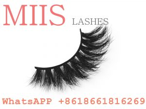 clear band 3D mink lashes